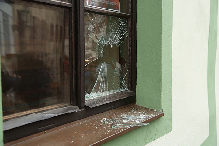 A2B Glass are able to board up broken windows while they are being repaired in Wandsworth Town.